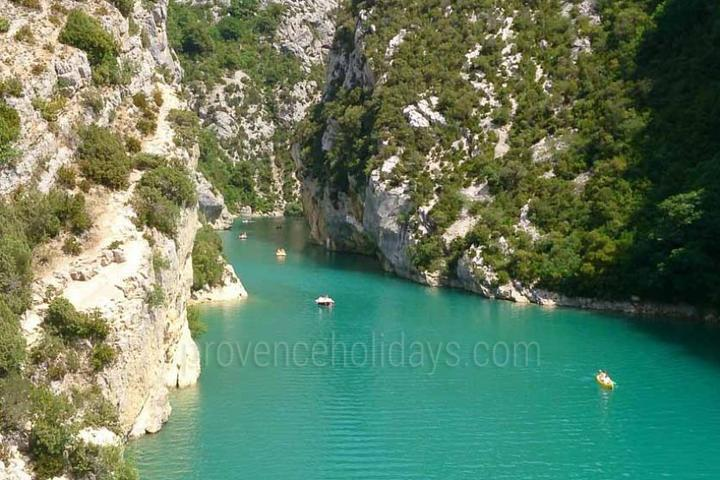 in Aix-en-Provence, Near Aix-en-Provence : Verdon Canyon and Moustiers St Marie