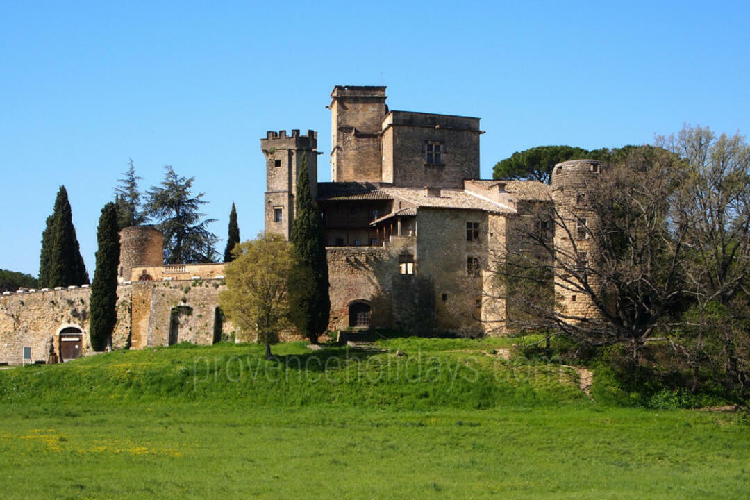 Tourism in Lourmarin