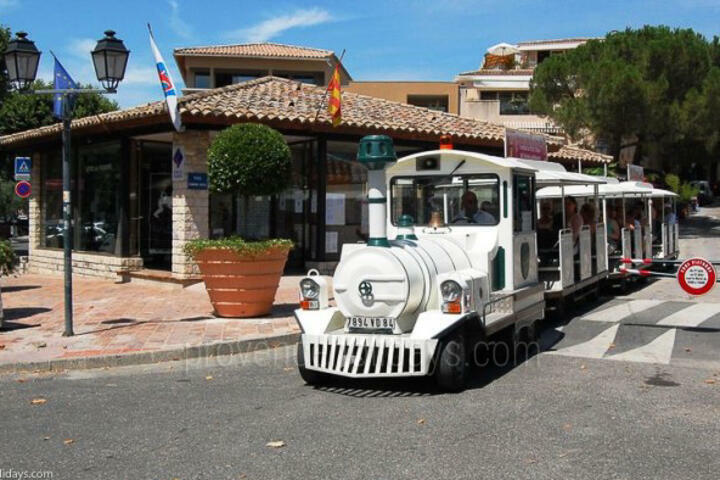 Guided Tours in Vaison-la-Romaine, Haut Vaucluse : Le Petit Train Touristique de Vaison