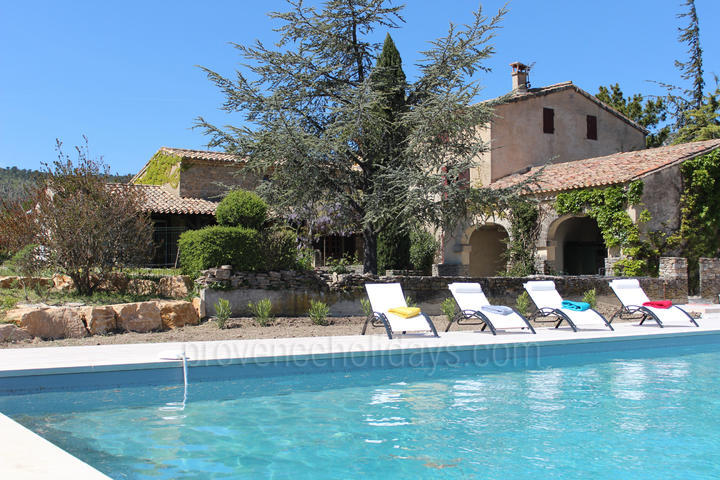 Large Holiday Rental House in Malaucène near the Mont Ventoux