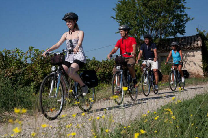 Cycling in Caromb, Mont Ventoux : Cycling tour - plaine to piémont
