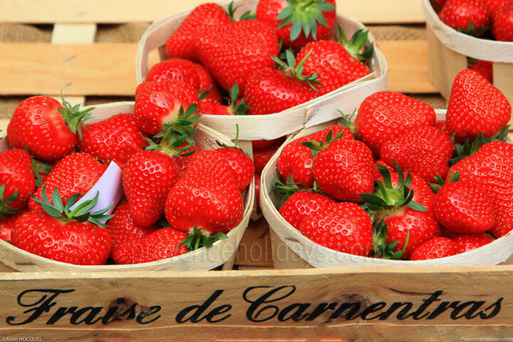 Strawberry from Carpentras