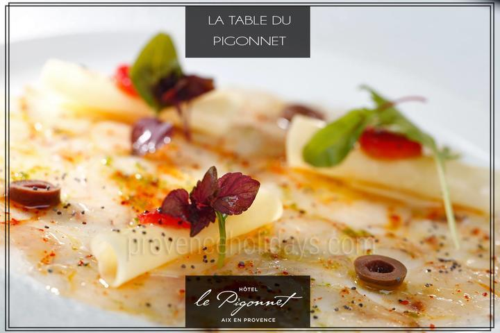 Restaurant La Table du Pigonnet, Guide Michelin, Gault & Millau - 1 toque