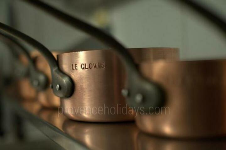 Restaurant Clovis, Michelin 1 star, Gault & Millau - 1 toque