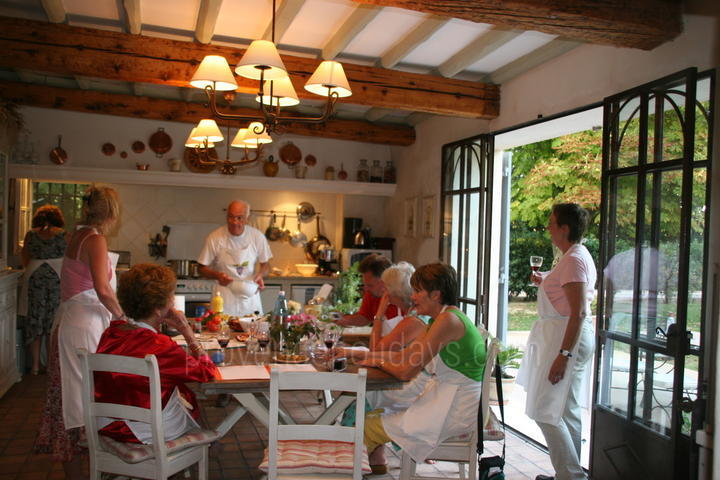 Cours de Cuisine à Saint-Rémy-de-Provence, Alpilles : Art and Cooking Classes in Provence