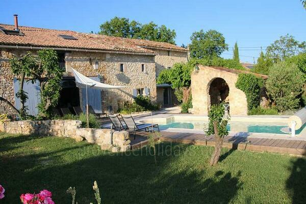 Charming Holiday Rental House with Heated Pool in the Cévennes