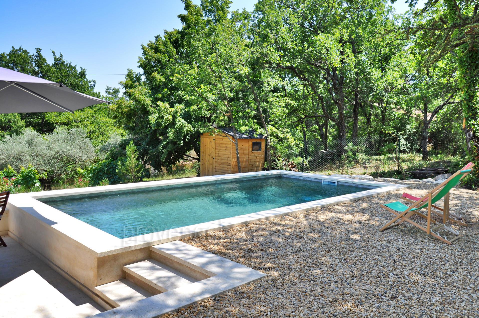 Location saisonni re lacoste g te luberon provence - Gite de france luberon avec piscine ...
