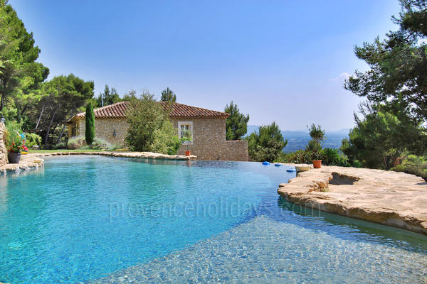 Bastide des Roches: Swimming Pool - 7