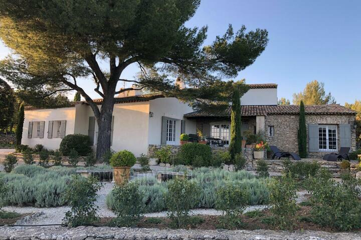 Luxury Property with Heated Pool and Tennis Court in Gordes