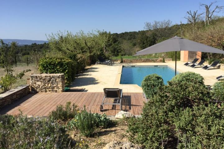 Holiday Rental with beautiful views in Provence
