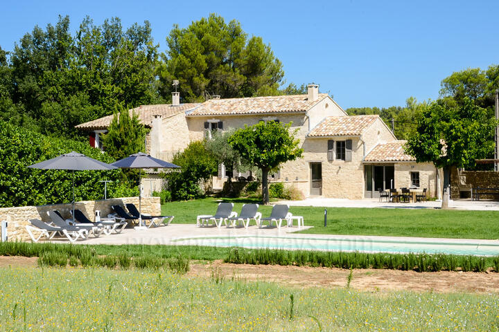 Menerbes Rental with Heated Pool