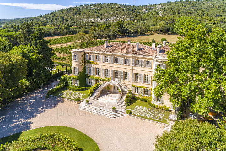 Luxury Château in Provence for 20 people