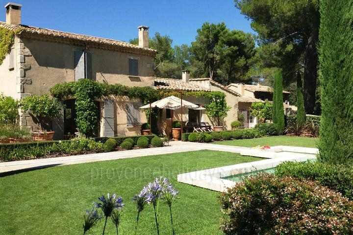 Provencal Mas for rent with air conditioning, Saint-Rémy-de-Provence