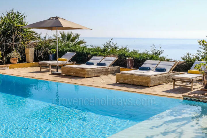 Amazing Holiday Rental with Sea Views on the Côte d'Azur