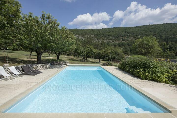 Holiday villa in Sault, Mont Ventoux
