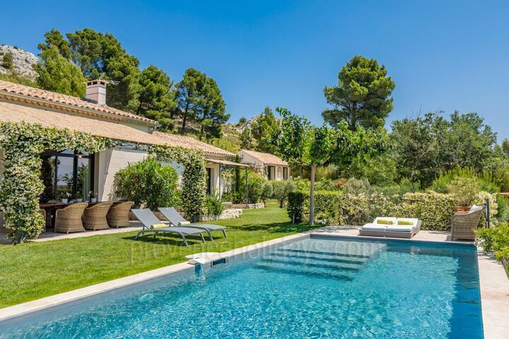 Air-Conditioned Villa with Heated Pool in Maussane-les-Alpilles