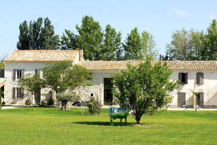 Beautiful Provençal Farmhouse for 20 people, in Provence